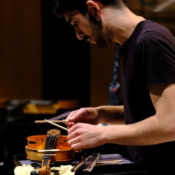 Juan Fran Cabrera, violin